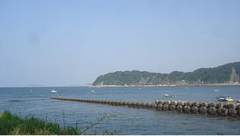 sea in front of the cafe.jpg